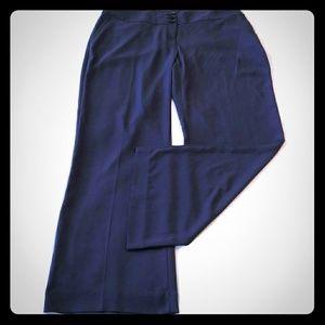 Eloquii Dress Pants Navy Blue 16W 1x Boot Cut work